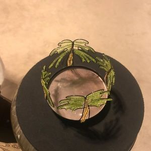 Accents - Palm Tree Candle Holder